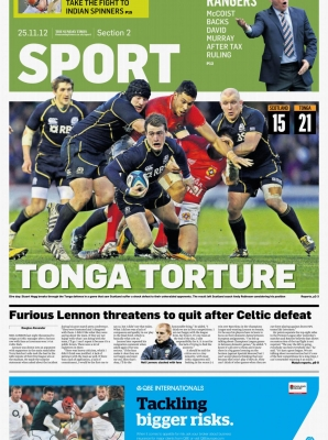 Sunday Times - Tonga