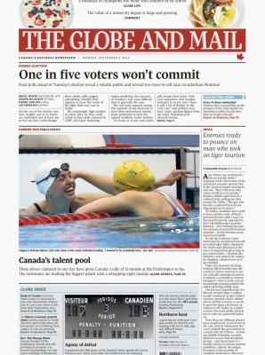 The Globe & Mail - Brianna Nelson