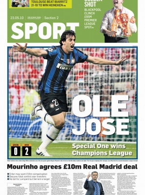 Sunday Times - Diego Milito