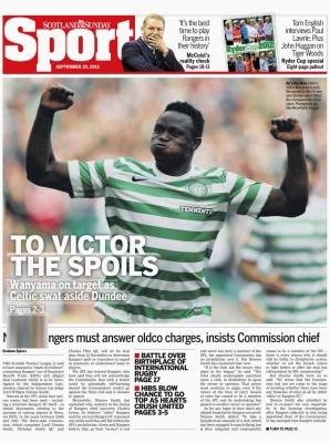 Scotland on Sunday - Celtic v Dundee