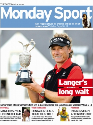 Scotsman - Front Cover