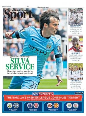 Telegraph 18th August 2014