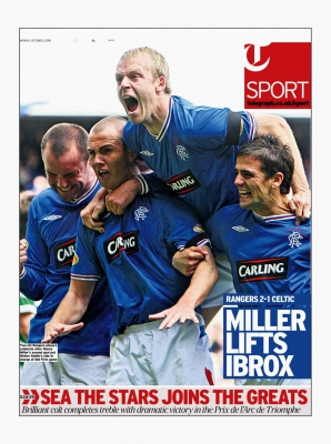 Telegraph Sport - Front Cover