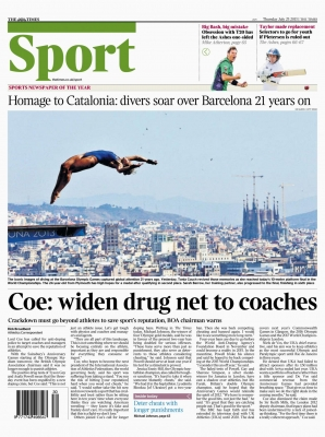 The Times - 25th Jul 2013