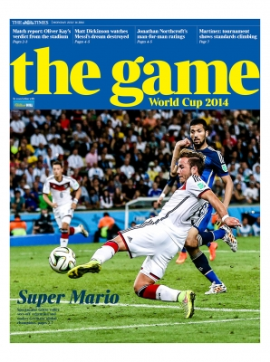 Times 14th July 2014